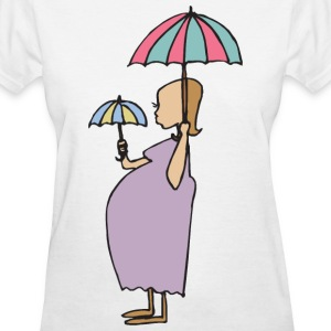 Pregnant Mother's Day T-Shirt - Women's T-Shirt