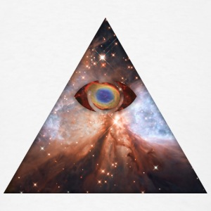 Cosmic All Seeing Eye T-Shirts - Men's T-Shirt