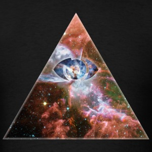 Cosmic Triangle T-Shirts - Men's T-Shirt