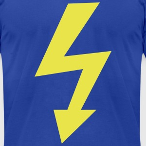 high voltage T-Shirts - Men's T-Shirt by American Apparel