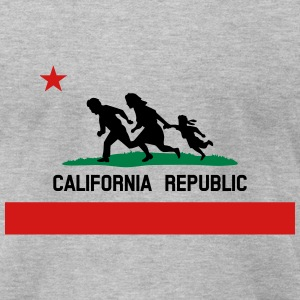 KCCO - Mexico California Republic Color T-Shirts - Men's T-Shirt by American Apparel
