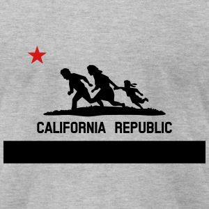 KCCO - Caution California Republic T-Shirts - Men's T-Shirt by American Apparel