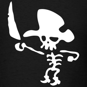 Pirate In Boots / Pirata Con Botas T-Shirts - Men's T-Shirt