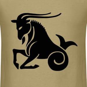 Capricorn Zodiac Sign T-shirt - Capricorn Symbol G - Men's T-Shirt