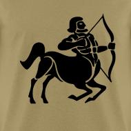 Design ~ Sagittarius Zodiac Sign T-shirt - Sagittarius Symbol Centaur /Archer
