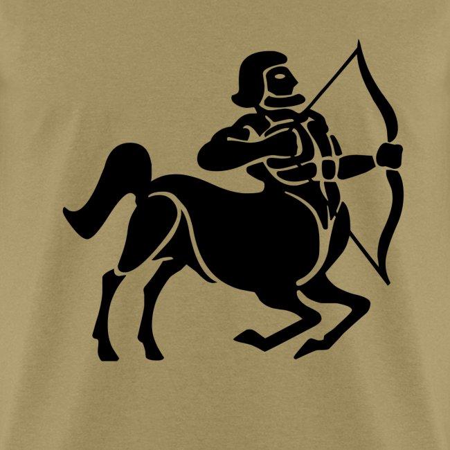 Sagittarius Zodiac Sign T-shirt - Sagittarius Symbol Centaur /Archer