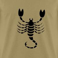 Design ~ Scorpio Zodiac Sign T-shirt - Scorpio Symbol Scorpion
