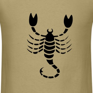 Scorpio Zodiac Sign T-shirt - Scorpio Symbol Scorp - Men's T-Shirt