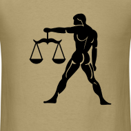 Design ~ Libra Zodiac Sign T-shirt - Libra Symbol Scales