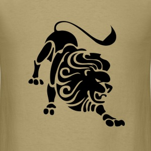 Leo Zodiac Sign T-shirt - Leo Symbol Lion - Men's T-Shirt