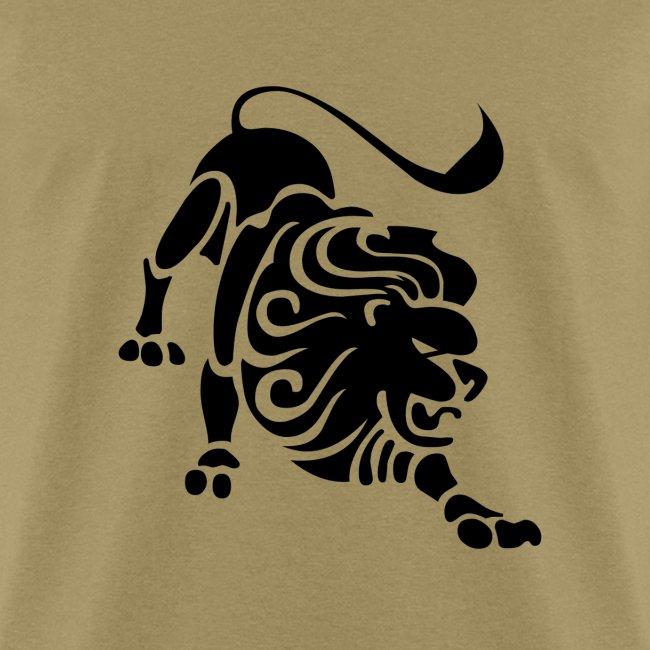 Presidents Leo Zodiac Sign T Shirt Leo Symbol Lion Mens T Shirt