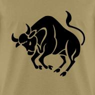 Design ~ Taurus Zodiac Sign T-shirt - Taurus Symbol Bull