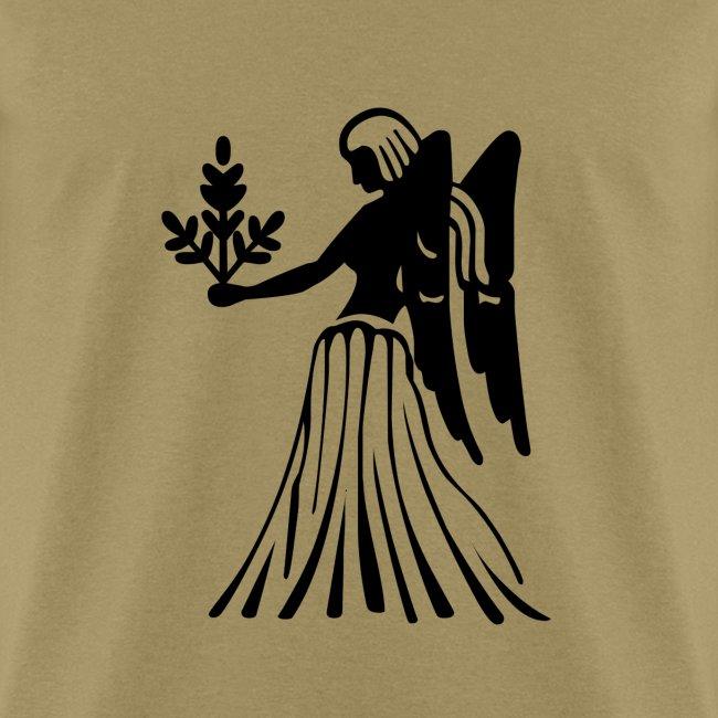 Virgo Zodiac Sign T-shirt - Virgo Symbol Virgin