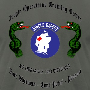 Jungle Operations Training Center - Men's T-Shirt by American Apparel