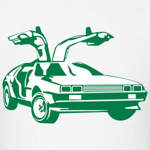 BTTF Gullwing Door - Men's T-Shirt