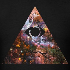 Cosmic Pyramid T-Shirts
