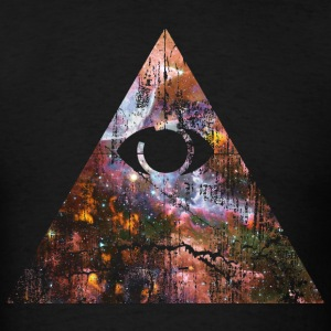 Cosmic Pyramid T-Shirts - Men's T-Shirt
