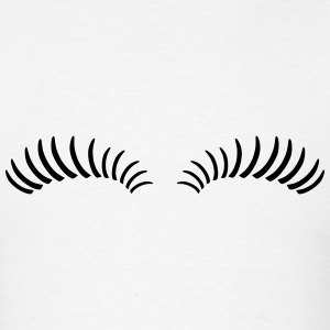 Eye Lashes T-Shirts - Men's T-Shirt