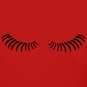 Eye lashes looking down. Women's T-Shirts - Women's T-Shirt