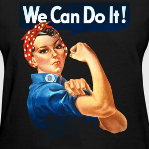 We Can Do It! Women's T-Shirts - Women's T-Shirt