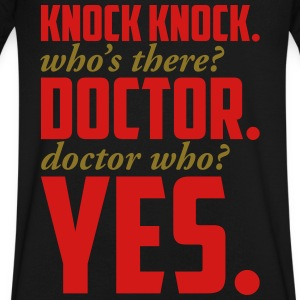 DOCTOR WHO T-Shirts - Men's V-Neck T-Shirt by Canvas