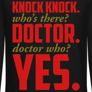 DOCTOR WHO Long Sleeve Shirts - Crewneck Sweatshirt