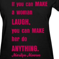 Design ~ MAKE GIRL SMILE TEE
