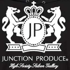 Junction Produce Logo White VIP CAR Hoodies - Men's Hoodie