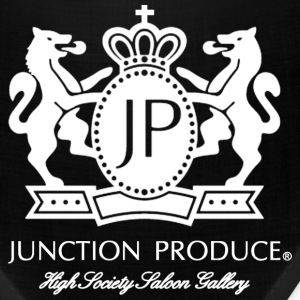 Junction Produce Logo White VIP CAR Caps - Bandana