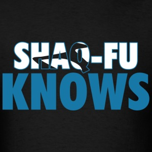 Shaq Fu Knows Graphic T-Shirts - Men's T-Shirt