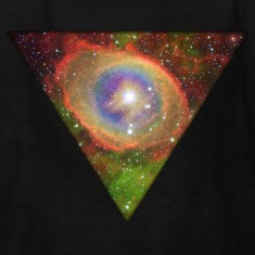 Cosmic Triangle Kids' Shirts