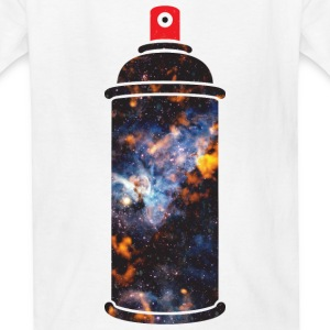 Cosmic Spray Paint Kids' Shirts - Kids' T-Shirt