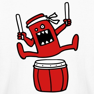Taiko Monster Kids' Shirts - Kids' Long Sleeve T-Shirt