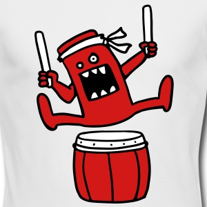 Taiko Monster Long Sleeve Shirts - Men's Long Sleeve T-Shirt by Next Level
