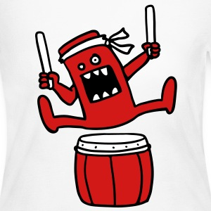 Taiko Monster Long Sleeve Shirts - Women's Long Sleeve Jersey T-Shirt