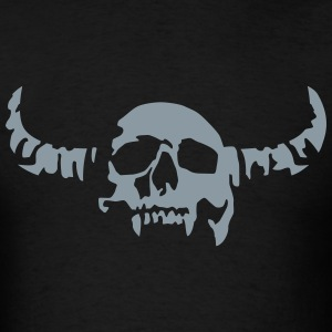 devil_skull_042013_a_1c T-Shirts - Men's T-Shirt