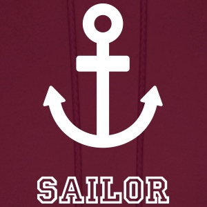 sailor sailing anchor Hoodies - Men's Hoodie