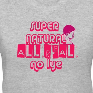 Super Natural Tee - Women's V-Neck T-Shirt