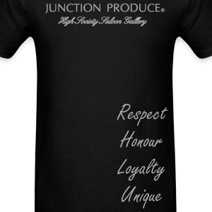Junction Produce Logo VIP CAR High Society Saloon T-Shirts - Men's T-Shirt