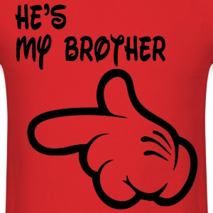 hes_my_brother T-Shirts - Men's T-Shirt