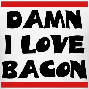 love_bacon T-Shirts - Men's T-Shirt