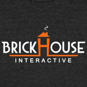 Brick House Interactive - Unisex Tri-Blend T-Shirt by American Apparel