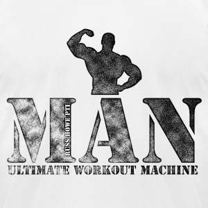 Ultimate Workout Machine - Men's T-Shirt by American Apparel