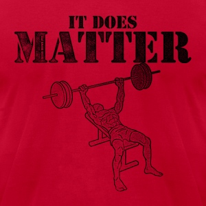 It Does Matter - Men's T-Shirt by American Apparel