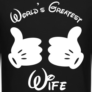 world's greatest wife - Crewneck Sweatshirt