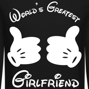 World's Greatest Girlfriend - Crewneck Sweatshirt