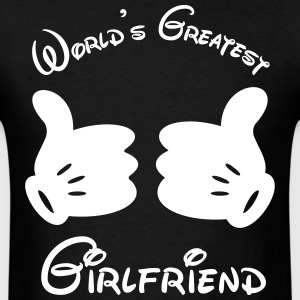 World's Greatest Girlfriend - Men's T-Shirt
