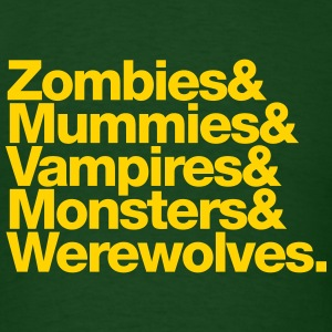 Zombies.. - Men's T-Shirt