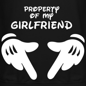 Property of my girlfriend - Crewneck Sweatshirt