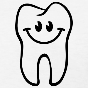 Tooth- / Dent- / Diente- / Dente- / Zahn-Smiley Women's T-Shirts - Women's T-Shirt